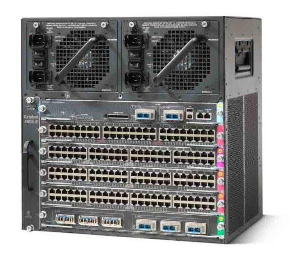 4506-E Chassis and Sup6L-E (C4506-S6L-C) – Campus LAN Switch
