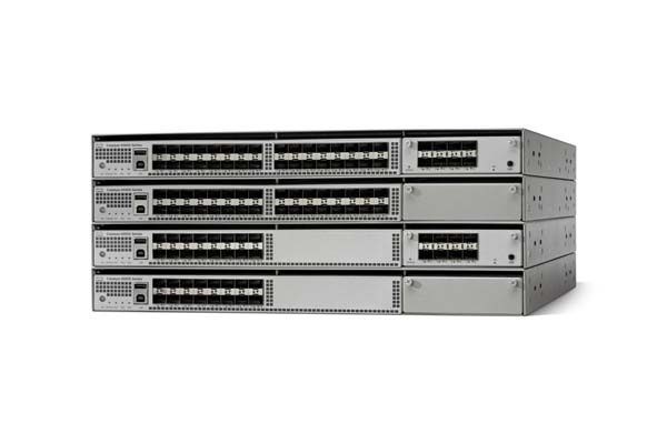 Catalyst 4500-X 32 Port 10G IP Base. Back-to-Front. No P/S (WS-C4500X-F-32SFP+) – Campus LAN Switch