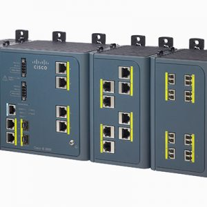 IE 3000 4-Port Base Switch w/ Layer 3