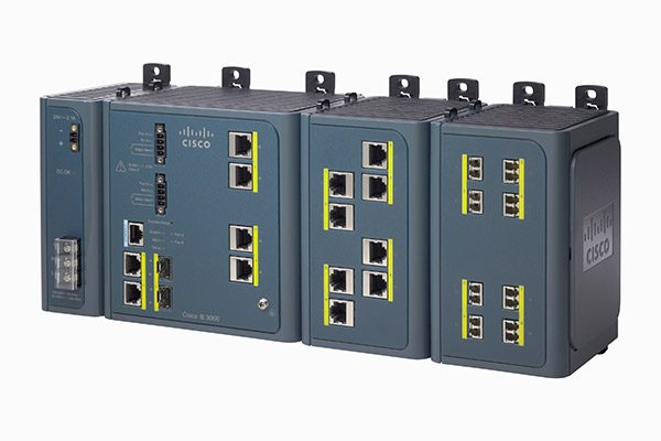 IE 3000 4-Port Base Switch w/ Layer 3 (IE-3000-4TC-E) – Endustriyel Ethernet Switch