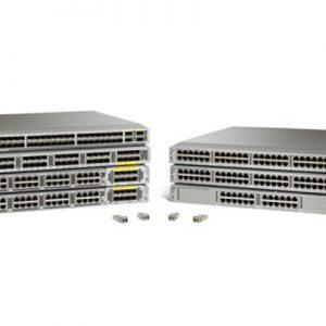 Standard airflow/DC pack: N2K-C2232PP-10GE. 2DC PS. 1Fan