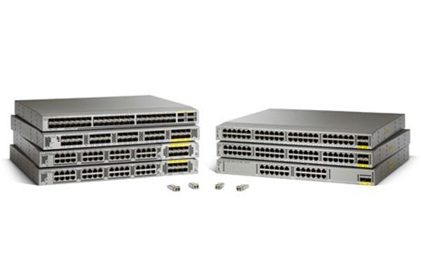 Standard airflow/DC pack: N2K-C2232PP-10GE. 2DC PS. 1Fan (N2K-C2232PP-FD-BUN) – Data Center Switch
