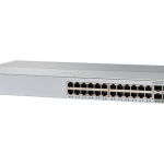 Catalyst 2960 Plus 24 10/100 PoE + 2 T/SFP LAN Lite (WS-C2960+24PC-S) – Campus LAN Switch