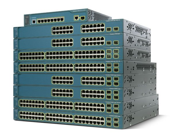 Cat3560 8 10/100 PoE + 1 T/SFP + IPB Image (WS-C3560-8PC-S-) – Campus LAN Switch