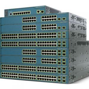 Cat3560 48 10/100/1000T PoE + 4 SFP Enh.Image