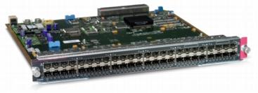 Cat6500 48pt 100Base-X module (WS-X6148-FE-SFP) – Campus LAN Switch