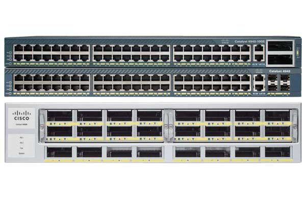 Catalyst 4948E. ES. 48-Port 10/100/1000+ 4 SFP+. AC p/s (WS-C4948E-E) – Campus LAN Switch