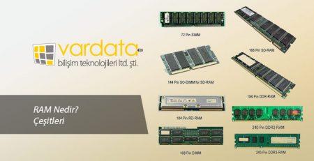 RAM Nedir? Çeşitleri Nelerdir?