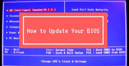 Bios Güncelleme Nasıl Yapılır